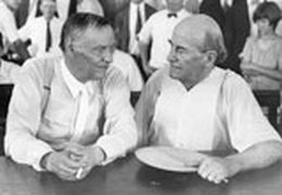 About Clarence Darrow and William Jennings Bryan at retrovsmetro.org